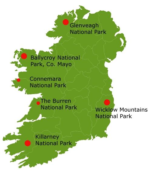 Connemara Nationalpark in Irland