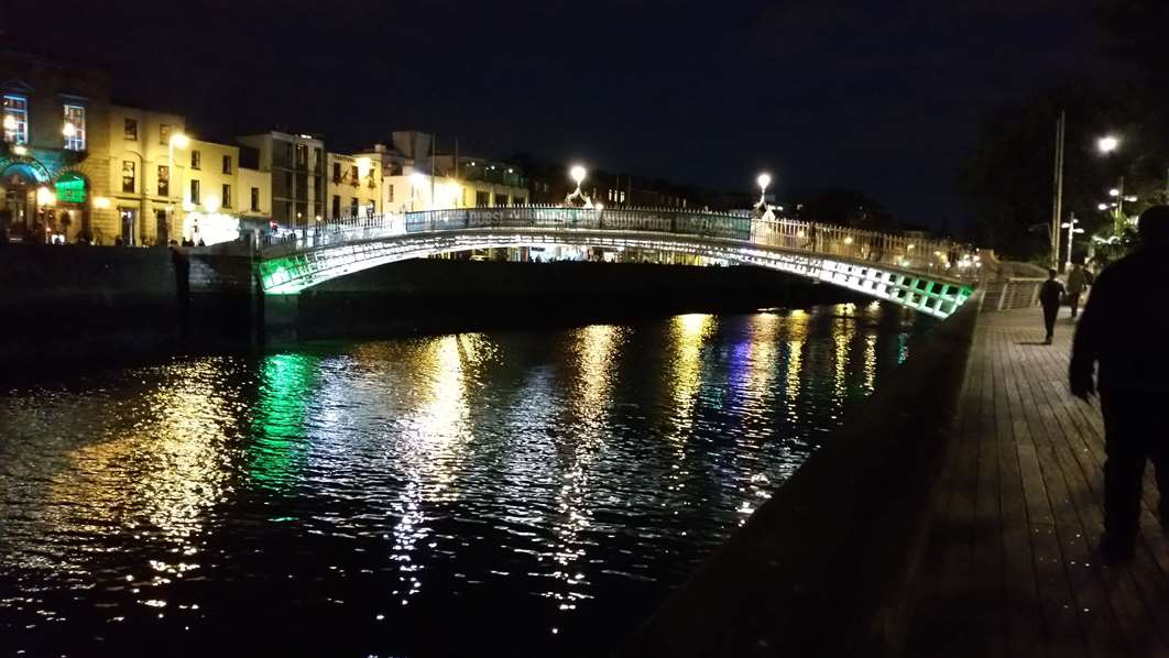 Dublin oder Belafst - Half Pennry Bridge